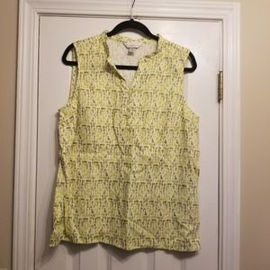 EUC Large Christopher & Banks Blouse